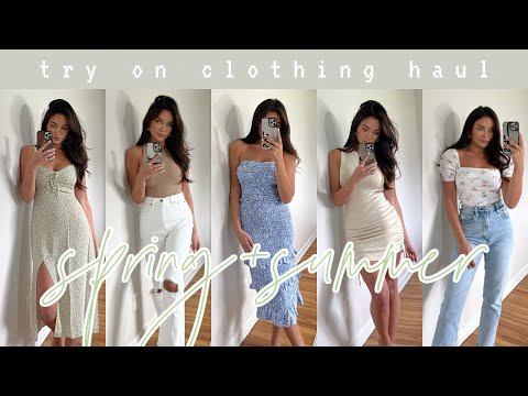 SPRING/SUMMER HAUL: dresses,
