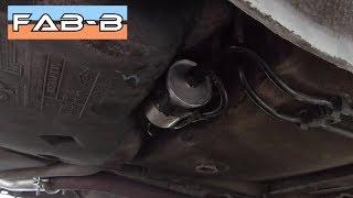 Comment remplacer le filtre à essence sur Renault Mégane 1