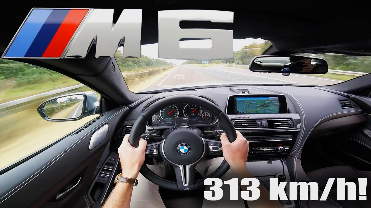 BMW M6 COMPETITION Gran Coupe ACCELERATION TOP SPEED 313 km/h ...