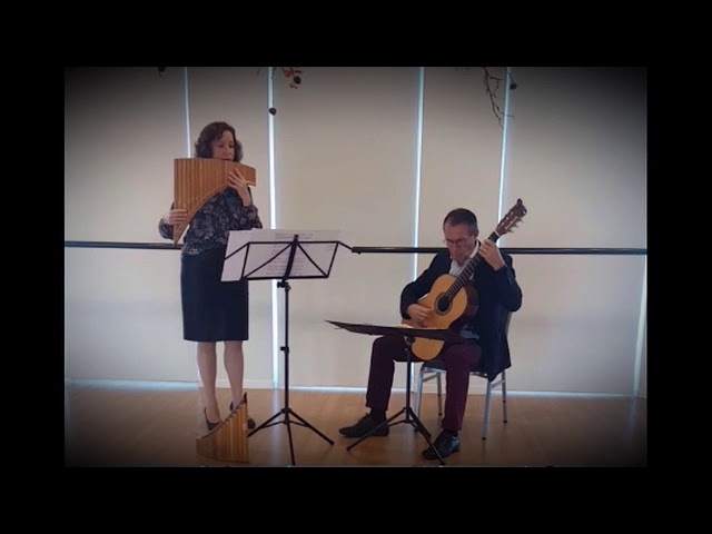 Duo Vicini - rehearsing three favourites