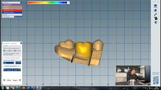 CAD Básico Aula 2 - Coroa Reduzida (coping) Parte 1