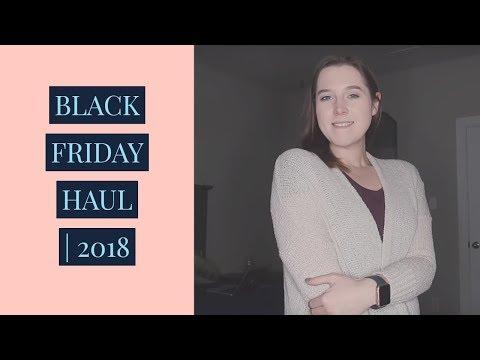 BLACK FRIDAY HAUL 2018
