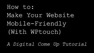 wPtouch - плагин для wordpress или как сделать мобильную версию блога за считанные минуты!
