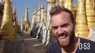 Top 10 Things to Do in Myanmar / Burma...In Under 2 Minutes!
