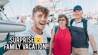 Surprising My Family with Secret Holiday!