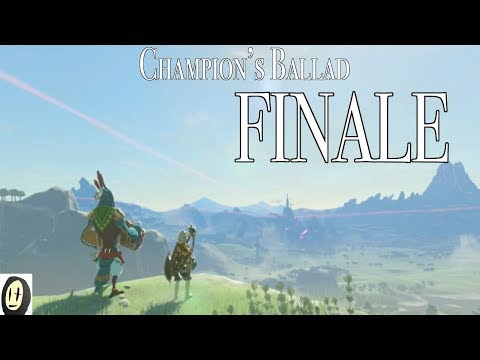 Breath of the Wild - Champion's Ballad Finale (Getting Master Cycle Zero + Cutscenes!)