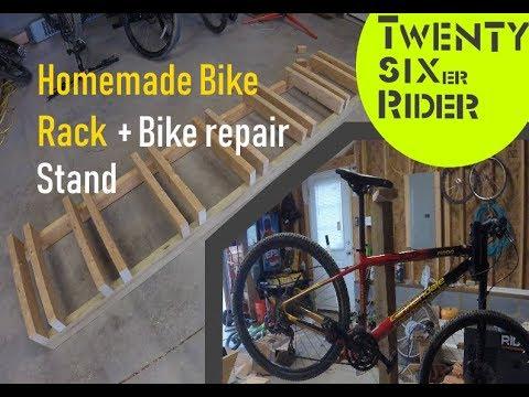 Diy bike stand + Diy repair stand