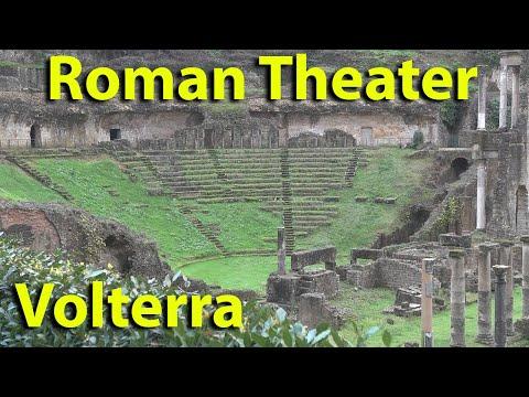 Volterra, Tuscany Italy part 4 Roman theater