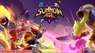 Summon Age: Heroes Android iOS Gameplay (By Gearage)