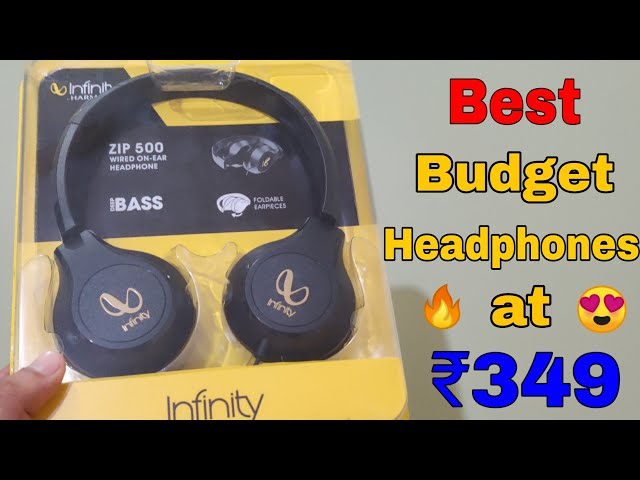 Best Budget JBL Infinity Wired Headphones at Rs. 349 🔥   Budget wired Headphone in 2020