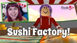 Audrey s Sushi Fabrik Roblox Tycoon | RadioJH Spiele