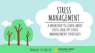 Stress Management Workshop screenshot 4