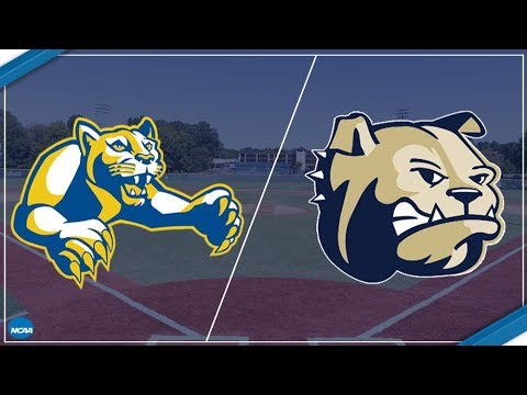2018 South Atlantic Conference Baseball - Mars Hill at Wingate (Game 1 of DH)