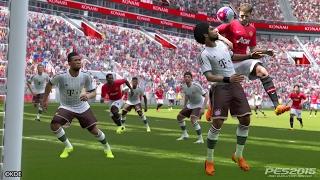 Pro Evolution Soccer 2015 FC Bayern vs. FC Barcelona PS4 Gameplay