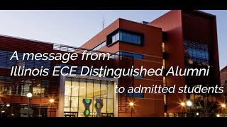 A message to admitted students, from Distinguished Alumni