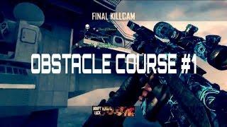 Obstacle Course Trickshotting #1