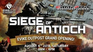 Evike: Siege of Antioch at Gamepod Combat Zone(Gameplay #1) - Airsoft Obsessed
