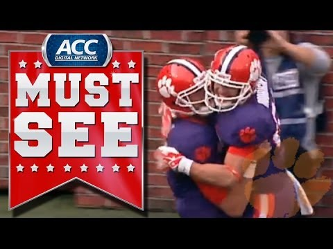 War Hero Daniel Rodriguez Scores 1st Career Touchdown | ACC Must See Moment