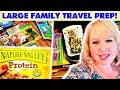 BIG FAMILY ROAD TRIP SHOPPING HAUL | Discount Groceries & Road Trip Activities for Kids!