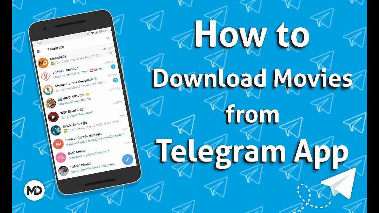 How To Download Movies From Telegram   Download Latest Movies From ...