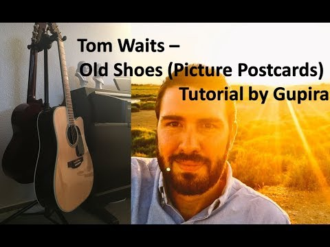 Tom Waits Old Shoes (Picture Postcards) Tutorial by Gupira, Gupiracovers
