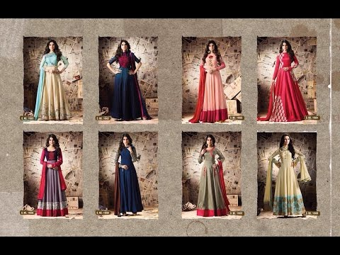 Latest Indian Anarkali Dress Collection 2017 || MUGDHA EXTREME STARING JENNIFER WINGET