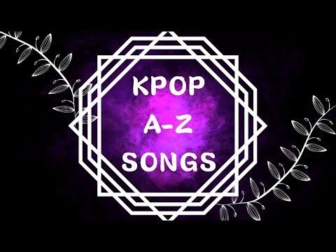 Kpop AZ songs