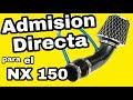 Admisión directa - Restaurando 150 - Honda NX 150