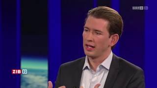 Sebastian Kurz zur Integration von Flüchtlingen