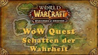 WoW Quest: Schatten der Wahrheit