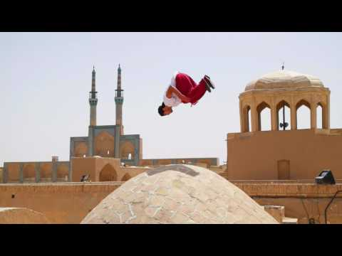 Parkour in Ancient Yazd City