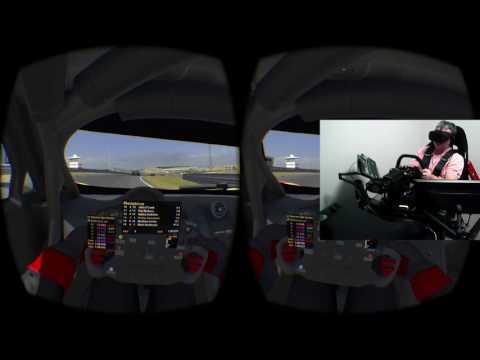 Oculus Rift CV1 iRacing