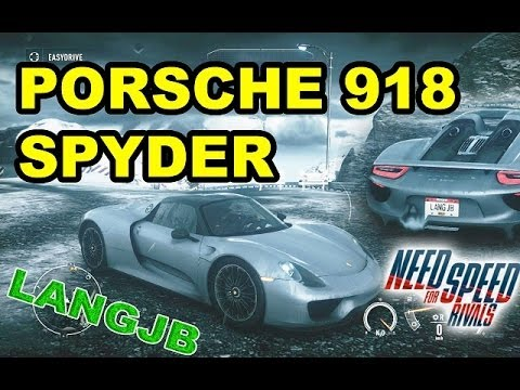 need for speed the rivals porsche 918 spyder pc langjb. Black Bedroom Furniture Sets. Home Design Ideas