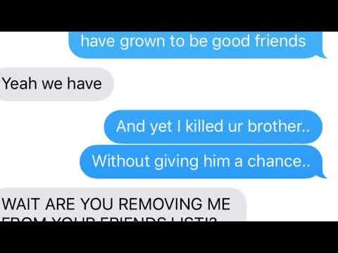 (Frisk) Stronger Than You - Text Prank