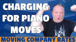 How Much To Charge For A Piano Move