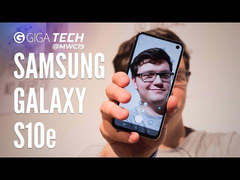 SAMSUNG GALAXY S10e Hands-on (deutsch): Eventuell essentiell – GIGA.DE