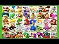 Mario & Sonic at the Rio 2016 Olympic Games (3DS) - All Characters