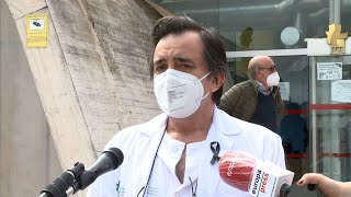 Homenaje a médico fallecido por Covid-19 en Cáceres