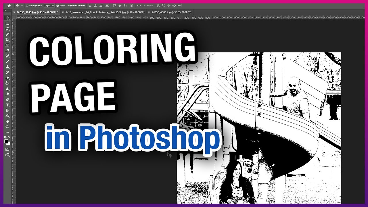 How to Create a Coloring Page in Photoshop