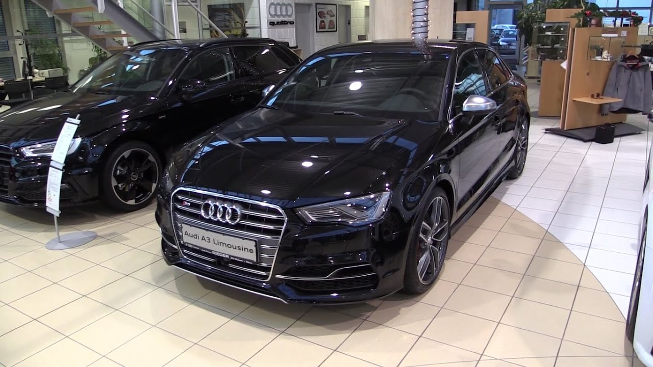 audi s3 sedan 2016 in depth review interior exterior youtube. Black Bedroom Furniture Sets. Home Design Ideas