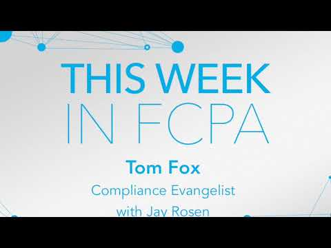 This Week in FCPA-Episode 86 - the Headin' to Minneapolis edition