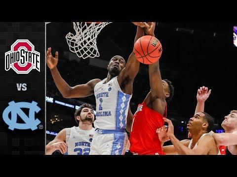 Ohio State vs. North Carolina Basketball Highlights (2017-18)