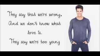 Never too young - MattyB (feat. James Maslow) Lyrics
