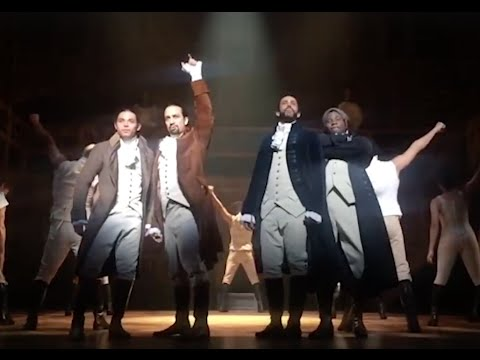 A Celebrati of the Original Broadway Cast of Hamilt
