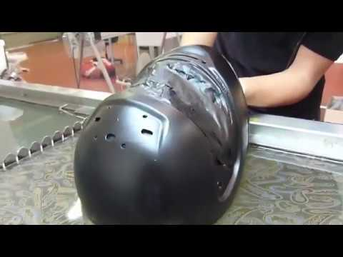 Шлем в огурцах