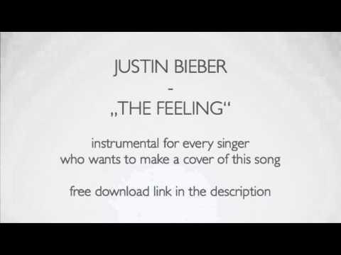 """Justin Bieber - The Feeling"" Acoustic Instrumental Karaoke Version FREE DOWNLOAD"