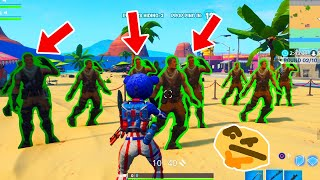 Fortnite Prop Hunt Funny Moments! Map Glitches & Giant Rock Prop!