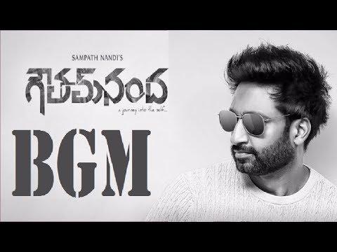 Gopi Chand Goutham Nanda Telugu Movie BGM | Sampath Nandi Latest Movie Back Ground Score