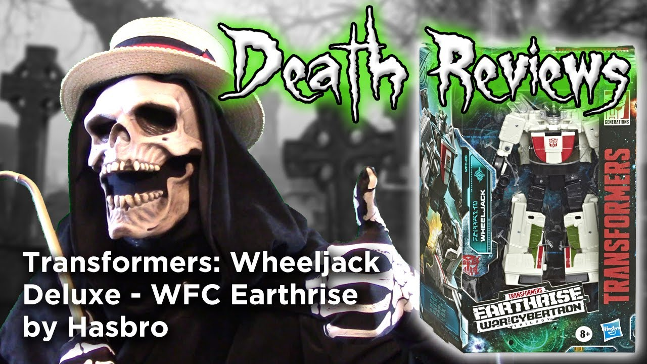 Death Reviews: Wheeljack - Deluxe - WFC Earthrise