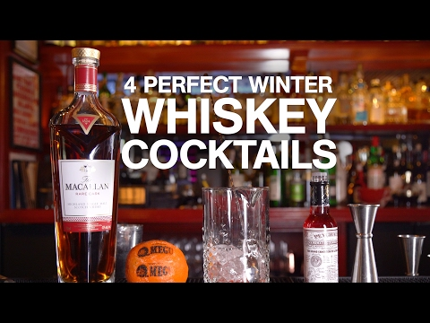 4 Perfect Winter Whiskey Cocktails